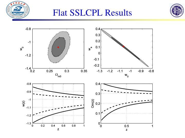 Flat SSLCPL Results