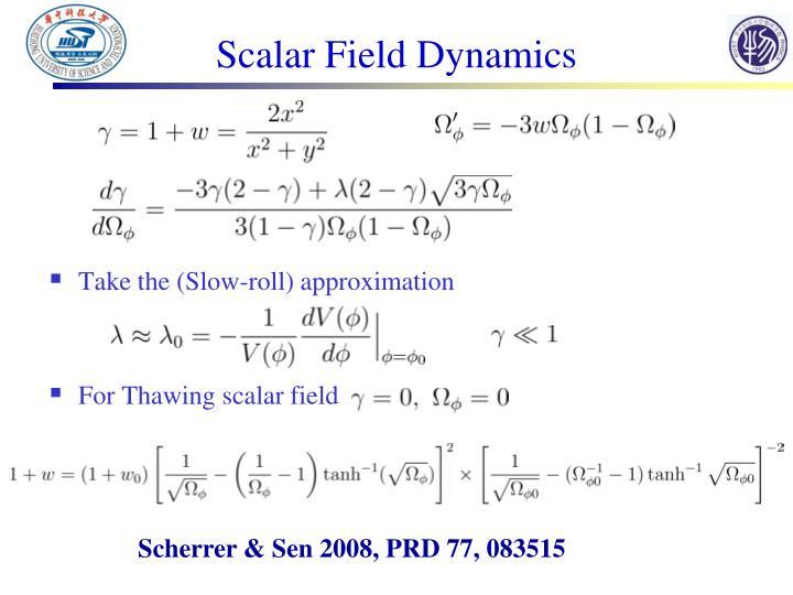 Scalar Field Dynamics