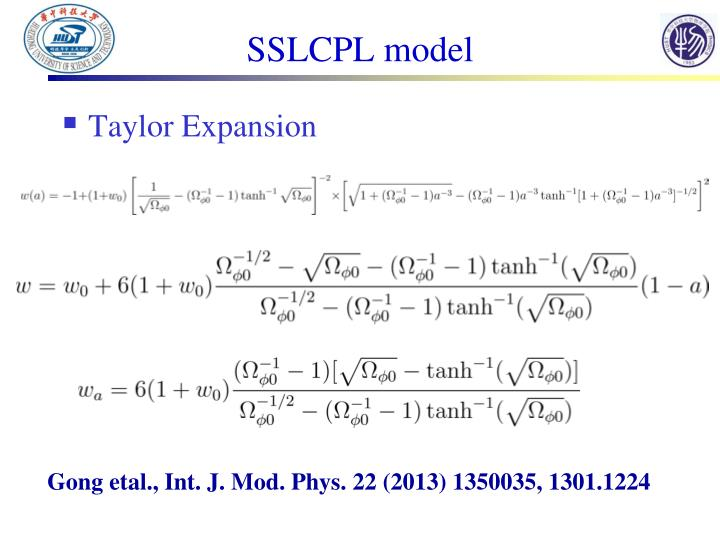 SSLCPL model