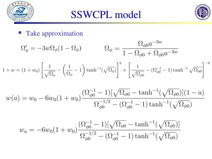 SSWCPL model