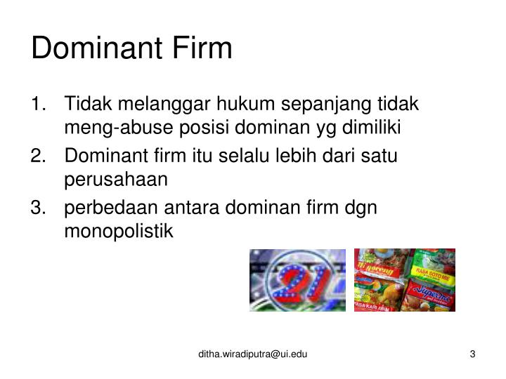 Dominant firm1