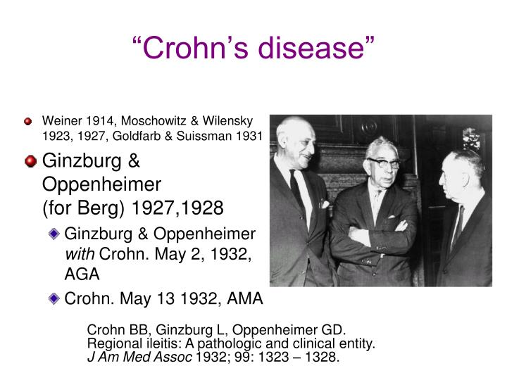 """Crohn's disease"""