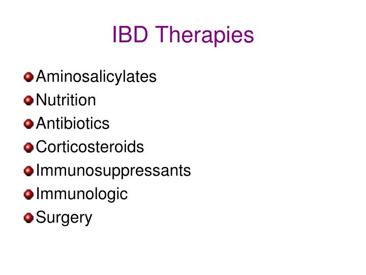 IBD Therapies