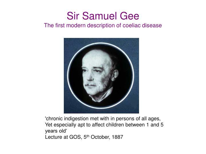 Sir Samuel Gee