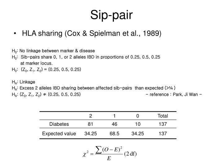 Sip-pair
