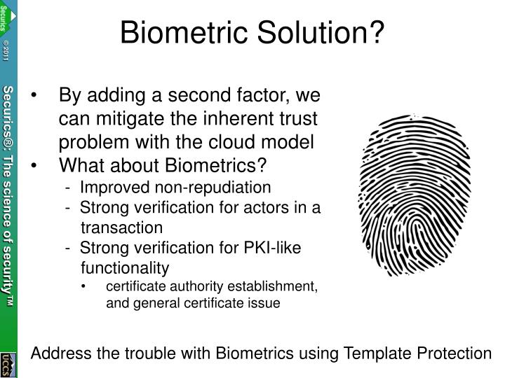 Biometric Solution?