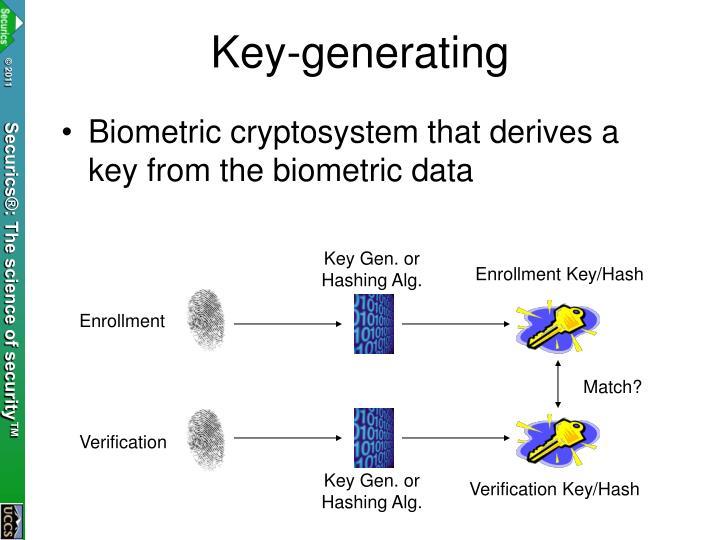 Key-generating