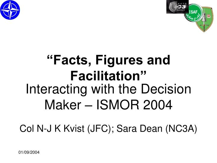 Interacting with the decision maker ismor 2004