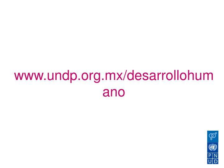 www.undp.org.mx/desarrollohumano