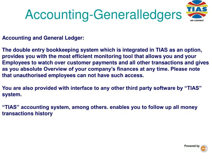 Accounting-Generalledgers