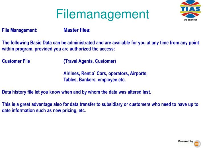 Filemanagement