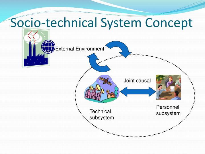 Socio-technical System Concept