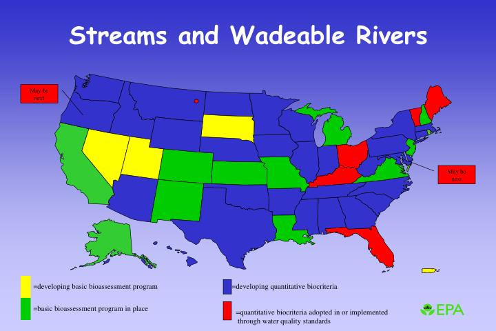 Streams and Wadeable Rivers