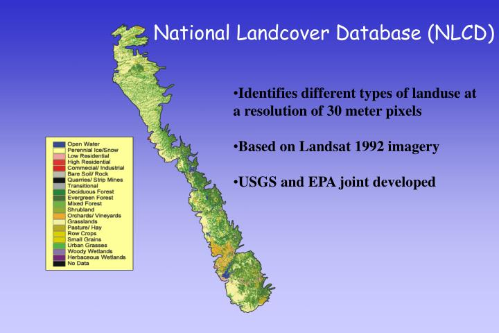 National Landcover Database (NLCD)