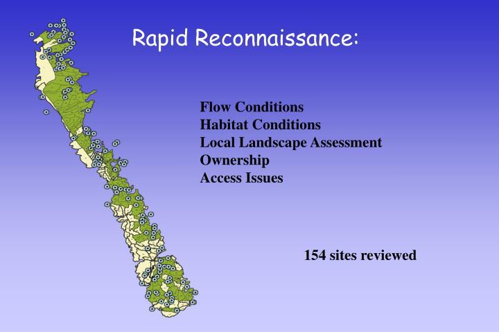 Rapid Reconnaissance: