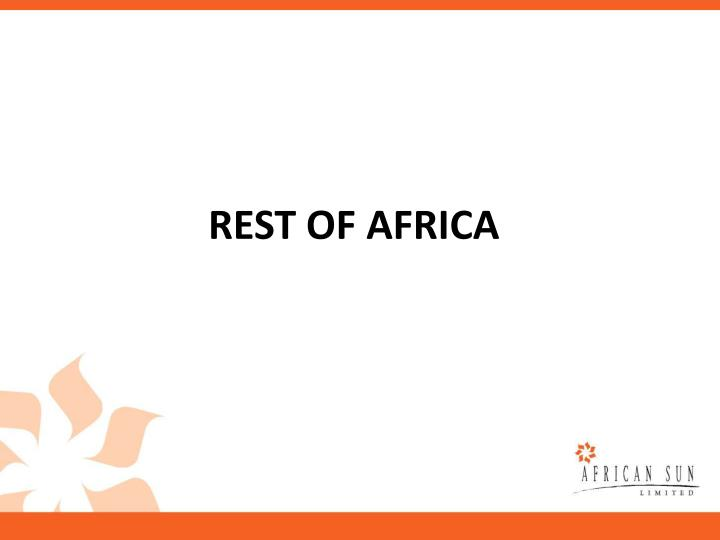 REST OF AFRICA