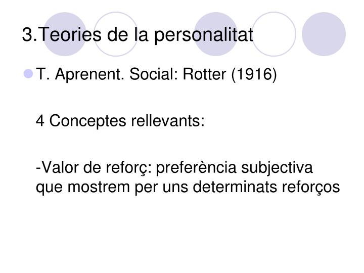 3.Teories de la personalitat
