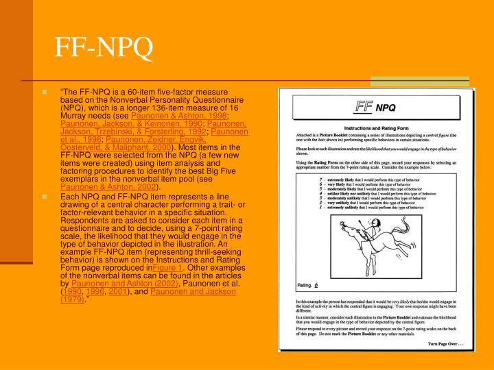 FF-NPQ