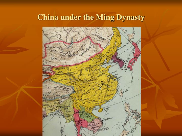 China under the ming dynasty