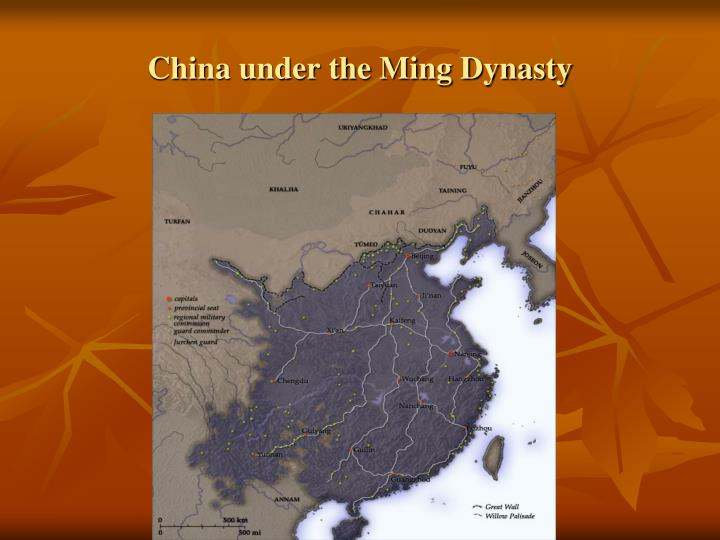 China under the ming dynasty1