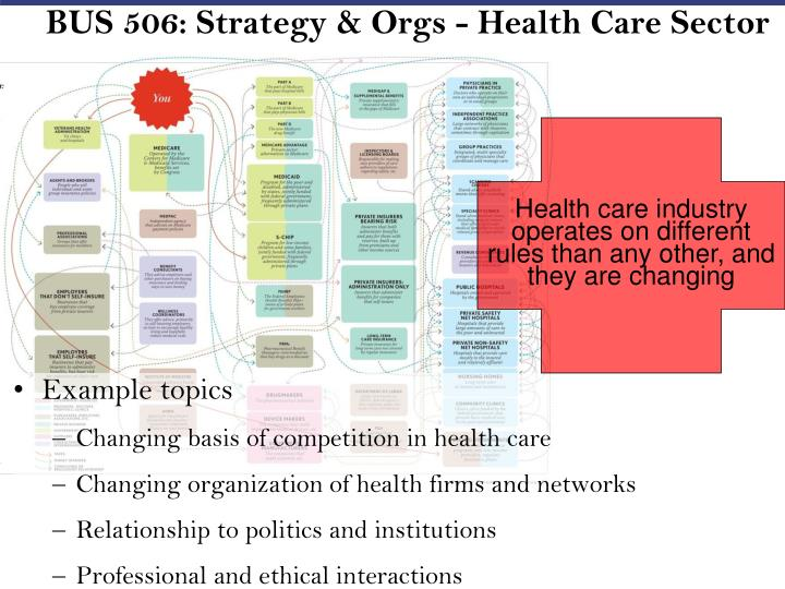 BUS 506: Strategy & Orgs - Health Care Sector