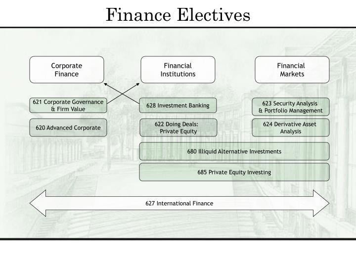 Finance Electives