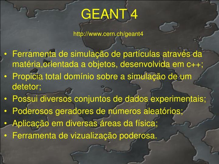 GEANT 4