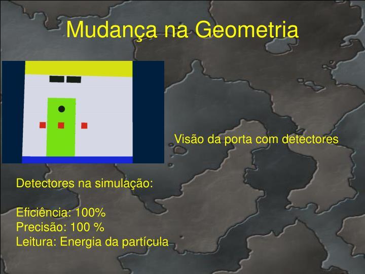 Mudança na Geometria