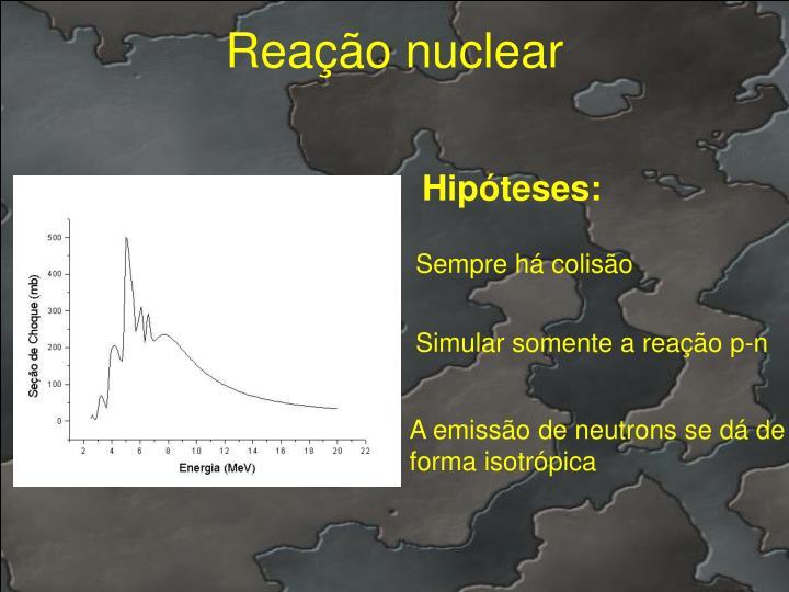 Reação nuclear