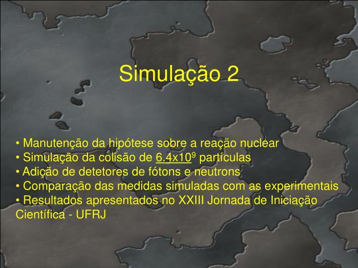Simulação 2