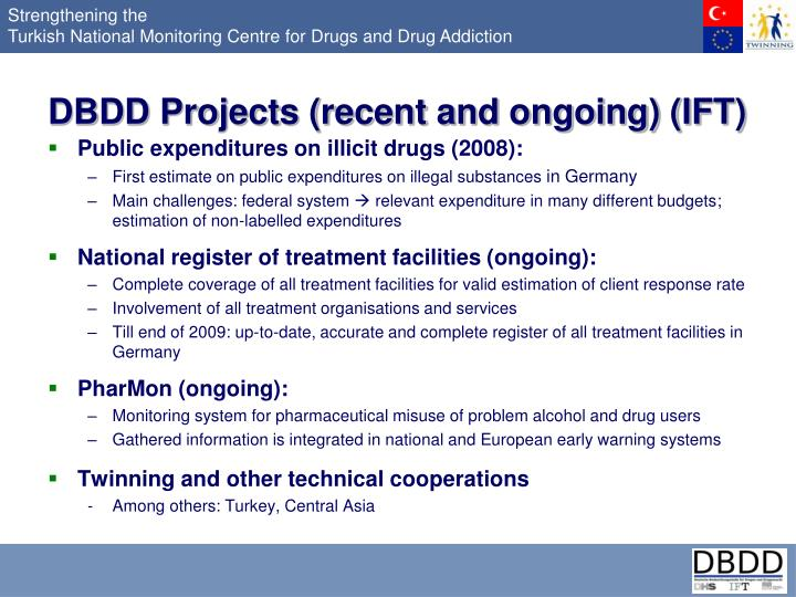 DBDD Projects (recent and ongoing) (IFT)