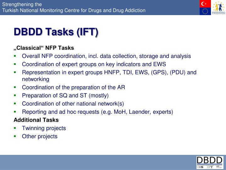 DBDD Tasks (IFT)