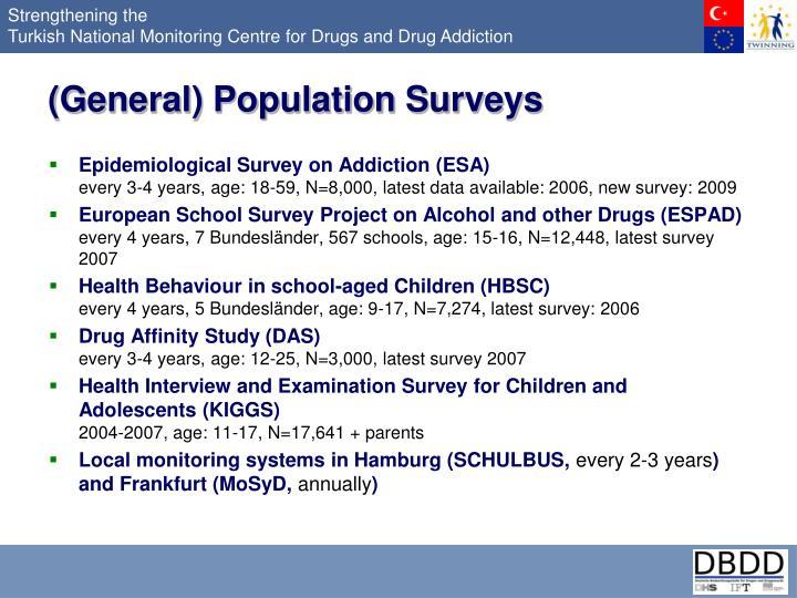 (General) Population Surveys