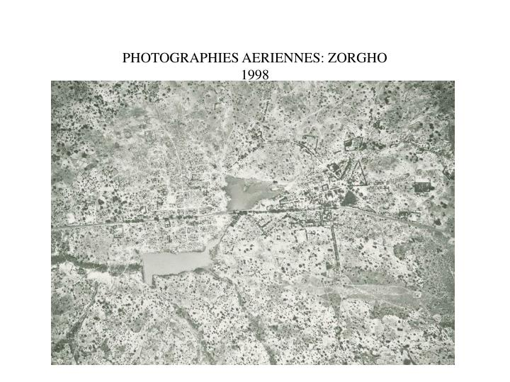 PHOTOGRAPHIES AERIENNES: ZORGHO