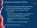 directives europ ennes eacs