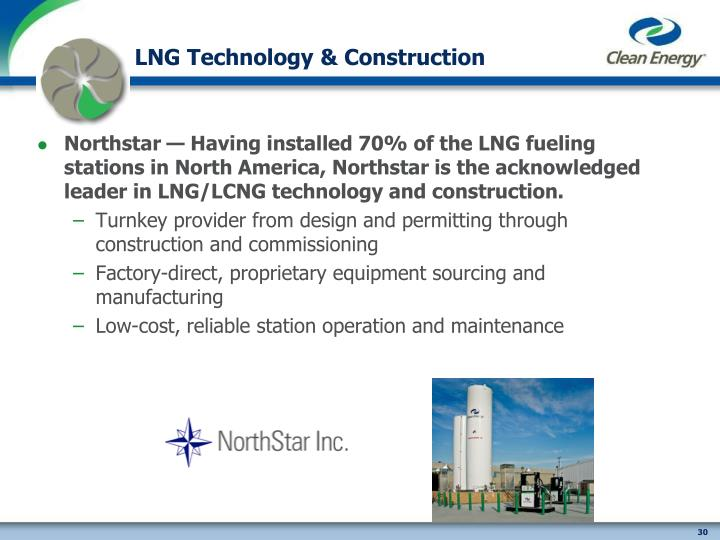 LNG Technology & Construction