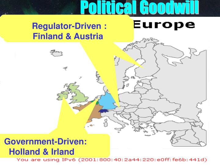 Political Goodwill