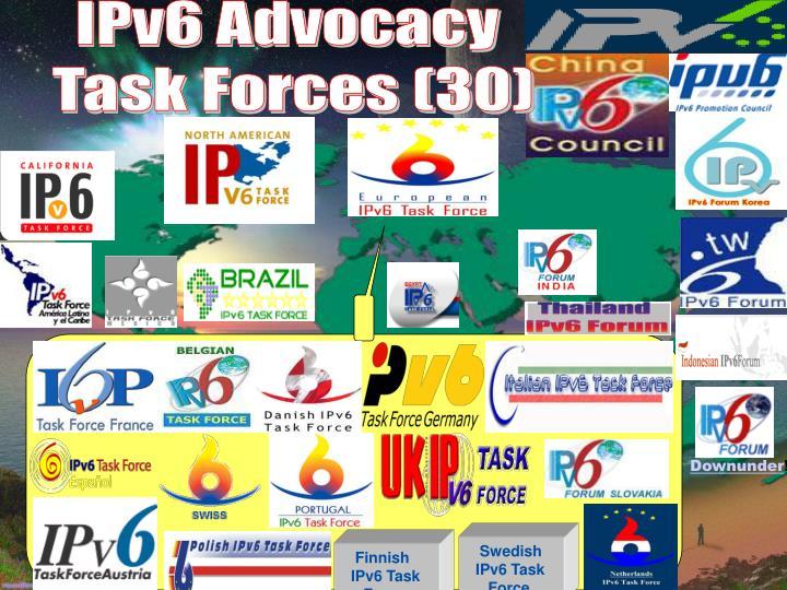 IPv6 Advocacy