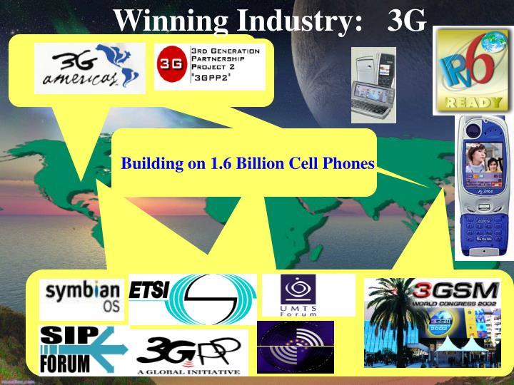 Winning Industry:   3G