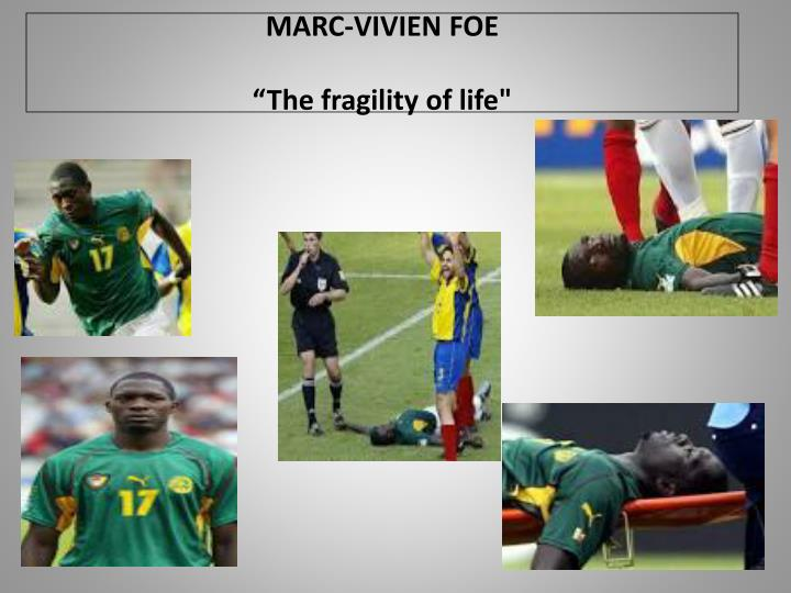 MARC-VIVIEN FOE