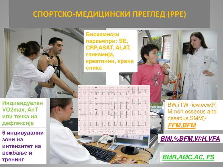 СПОРТСКО-МЕДИЦИНСКИ ПРЕГЛЕД (РРЕ)