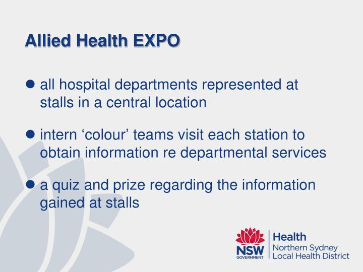 Allied Health EXPO