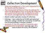 collection development1