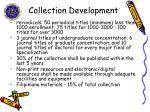 collection development2