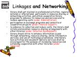 linkages and networking1