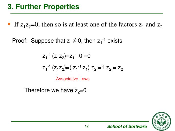 3. Further Properties