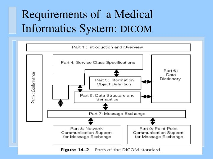 Requirements of  a Medical Informatics System: