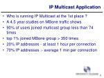 ip multicast application