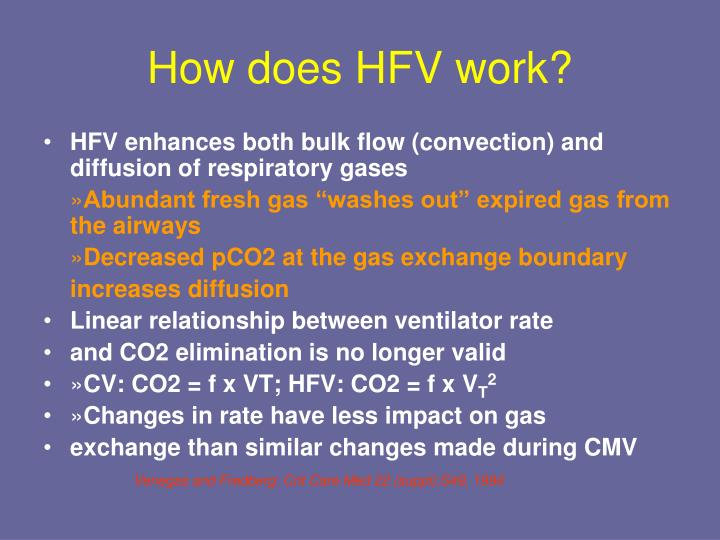 How does HFV work?