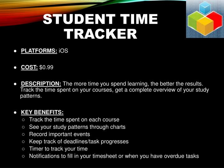 Student Time Tracker